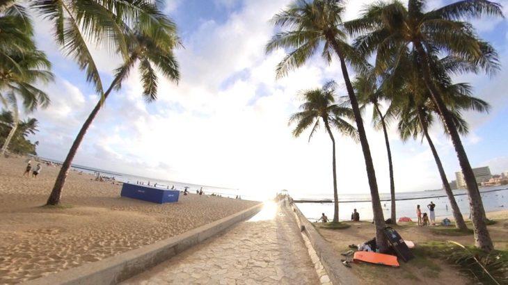 ハワイ No.1 スポット!?絶景サンセットが撮れる『ワイキキ・ウォール』【Waikiki Wall】