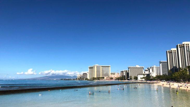 【動画・写真88枚】ハワイ旅行で1000%行くワイキキビーチを写真で解説!