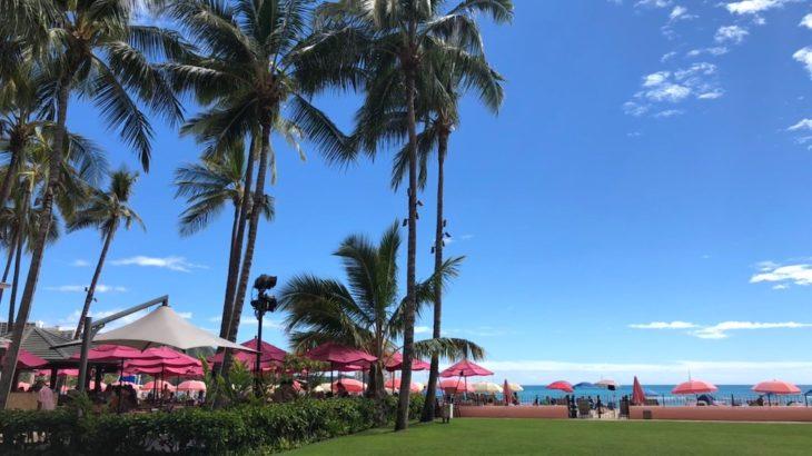 ピンクが可愛い!サーフラナイでハワイの贅沢ブレックファースト
