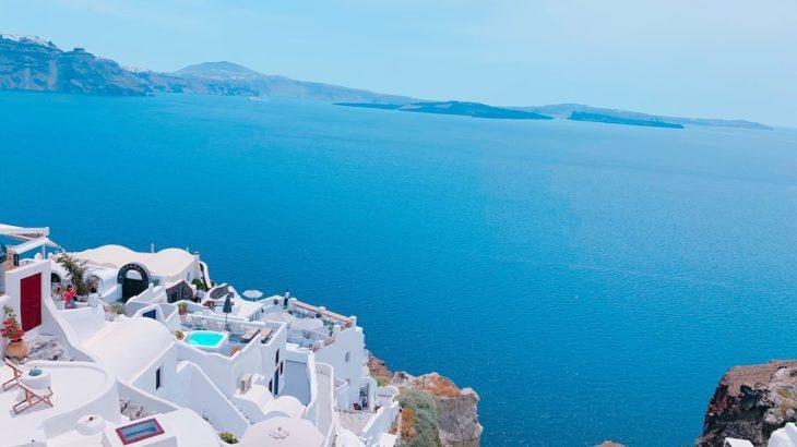 【旅ログ】第一弾!感動!!ギリシャ、サントリーニ島へ行ってきた!【最新2019】