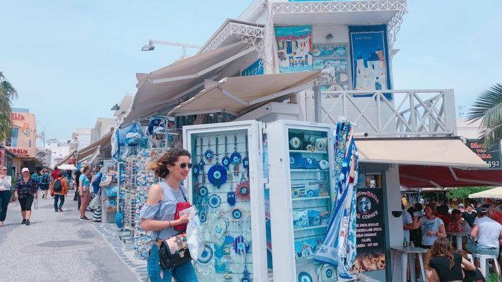 【旅ログ】第三弾!夢の島!サントリーニ島、中心街フィラでお買い物&ランチタイム!【写真27枚】