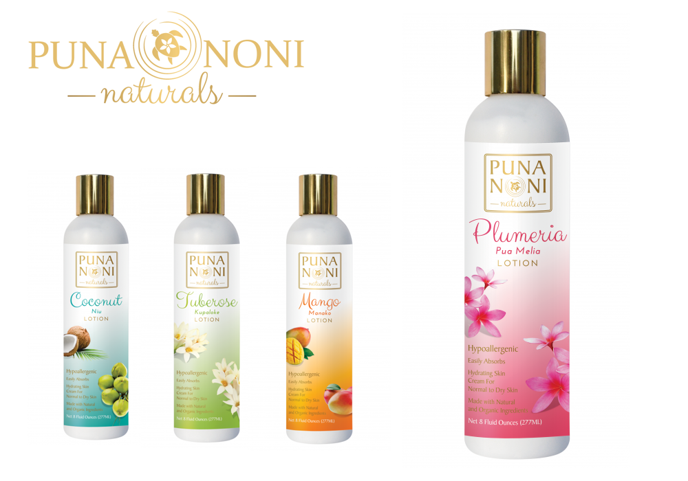 Hand & Body Lotion Plumeria 8oz:19.00ドル 【Puna Noni Naturals】