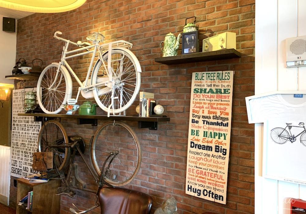 ブルーツリーカフェの店内