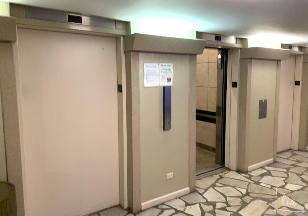 パシフィックモナーク(Aqua Pacific monarch)のエレベーター