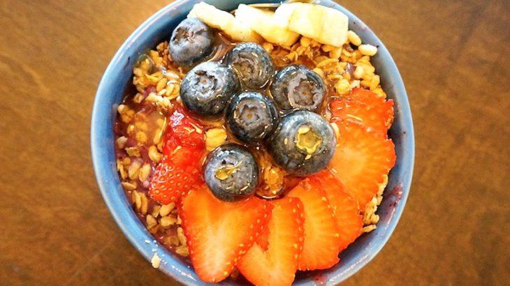 ハワイのブルーツリーカフェで食べたアサイボウルが過去一だった【Blue Tree Cafe】