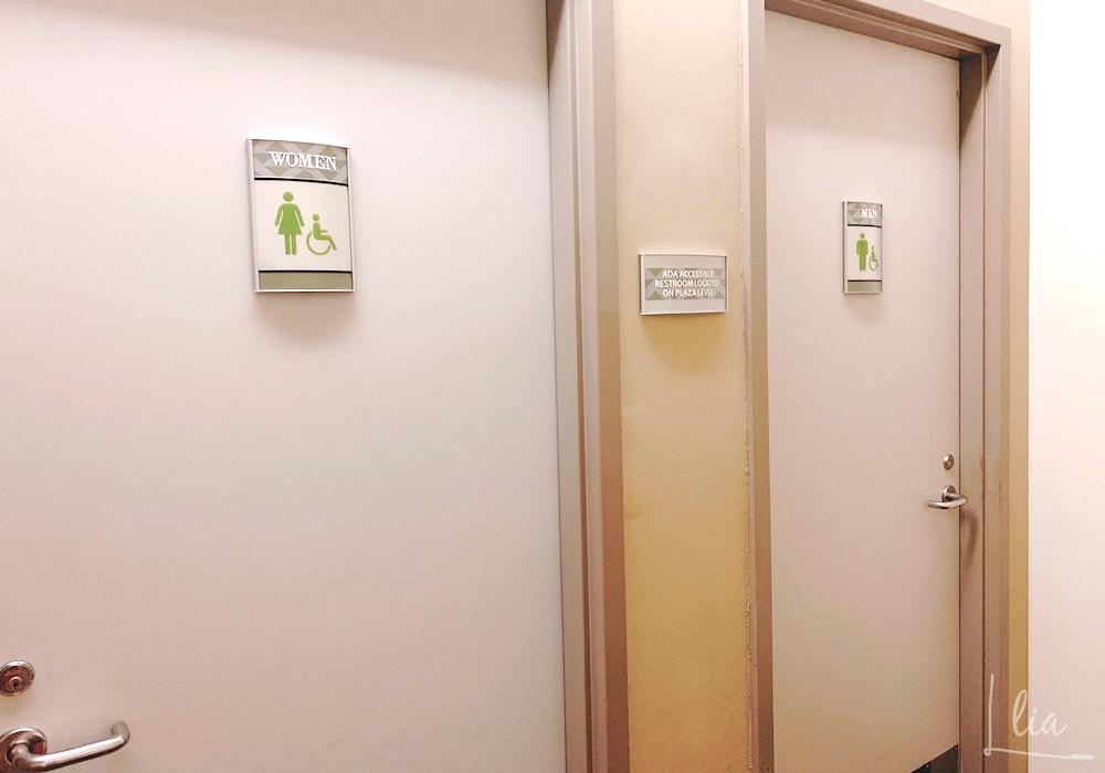 IIEのトイレは鍵が兼用