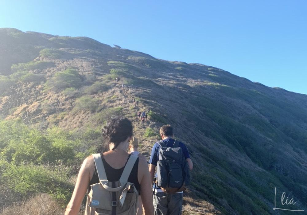 ハナウマベイリッジハイキング