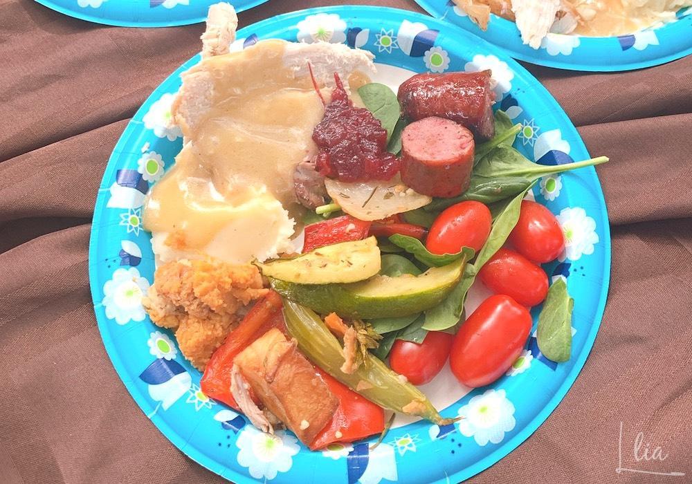 サンクスギビングデー感謝祭ランチ